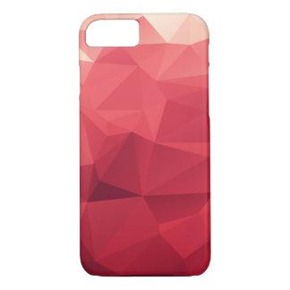 Facetas vermelhas de cores de vinho capa iPhone 7