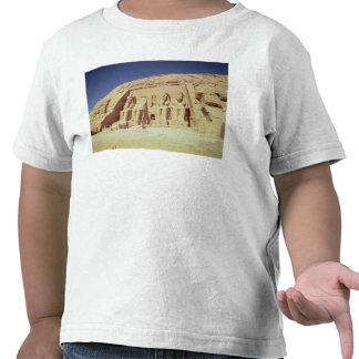 Fachada do templo de Ramesses II T-shirts