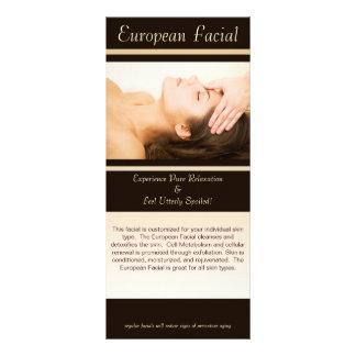 Facial europeu, Facial europeu, este facial mim… Planfeto Informativo Colorido