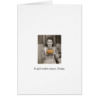 Fácil como o cartão do vazio da torta