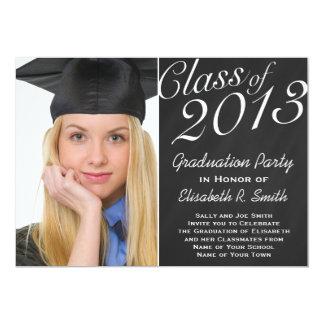 Fácil personalizar o partido da foto do retrato da convite 12.7 x 17.78cm