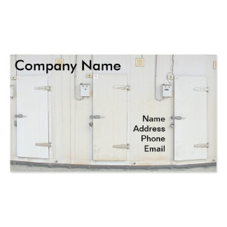 Facilidade moderna do armazenamento da cartão de visita