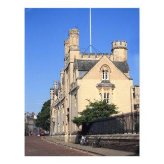 Faculdade de Merton Oxford Panfleto Coloridos