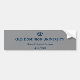Faculdade do negócio - azul de ODU Strome Adesivo Para Carro