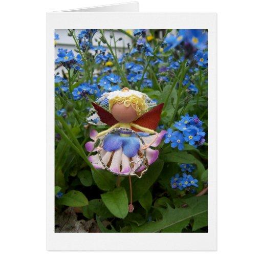 Fada da flor de Straelita Cartão