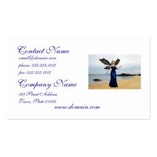 Fada da praia cartão de visita