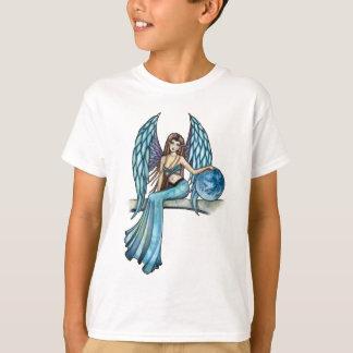 Fada do anjo-da-guarda da terra camiseta