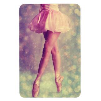 Fada do balé - ímã foto com ímã retangular