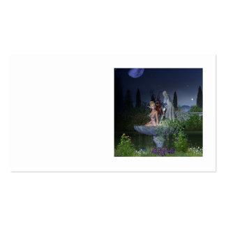 Fada do jardim do Nighttime Cartão De Visita