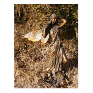 Fada do outono cartão postal