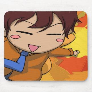 Fada do vôo do menino de Manga Mouse Pad