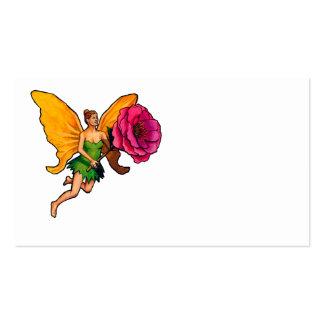 Fada e flor