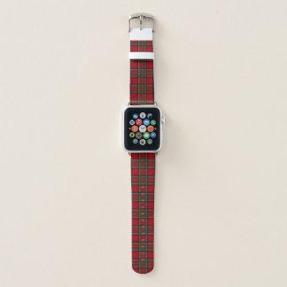 Faixa de relógio vermelha de Apple do design da
