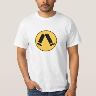 Faixa de travessia (básica) t-shirts