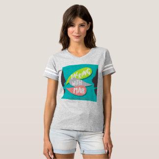 FALA COM o t-shirt do futebol de MARÇO Camiseta