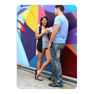 Fala do casal convite 12.7 x 17.78cm