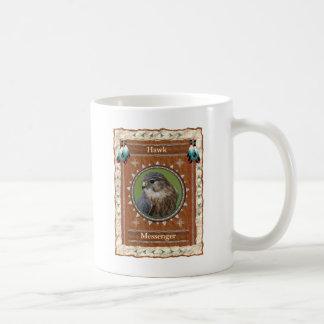 Falcão - caneca de café clássica do mensageiro