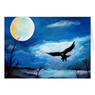Falcão da caça # 2 cartão comemorativo