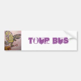 Falcão de peixes acústico (ônibus de excursão) adesivo para carro