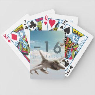 Falcão F-16 de combate Baralhos Para Pôquer