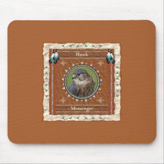 Falcão - mensageiro Mousepad