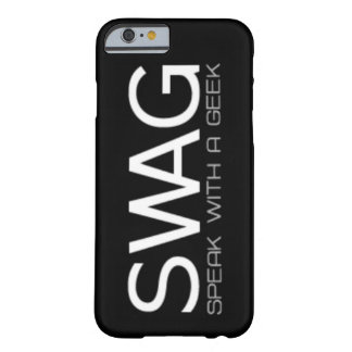 Fale com um geek capa barely there para iPhone 6