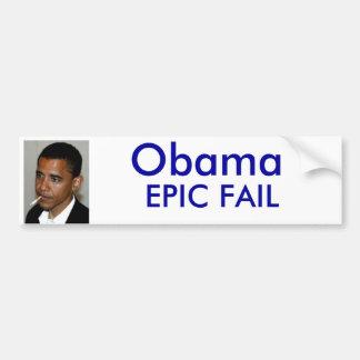 Falha de Obama Adesivo Para Carro