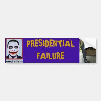 Falha presidencial de Anti-Obama Adesivo Para Carro