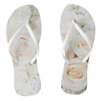 Falhanço de sacudir bonito do rosa branco para que chinelos