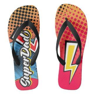 Falhanço de sacudir das sandálias da praia do