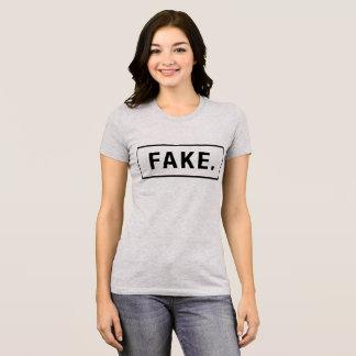 Falsificação do t-shirt, T do tumblr, camisa