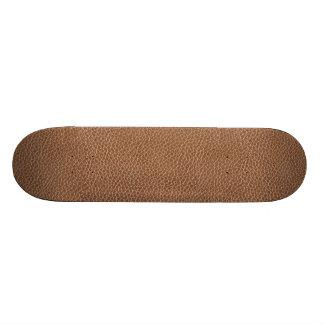Falso Brown natural de couro Shape De Skate 18,7cm