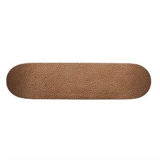 Falso Brown natural de couro Shape De Skate 20,6cm