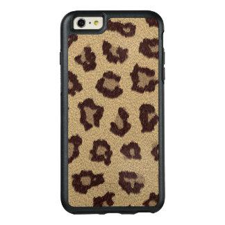 Falso-Pele do impressão do leopardo