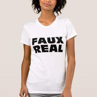 Falso real - corajoso t-shirts