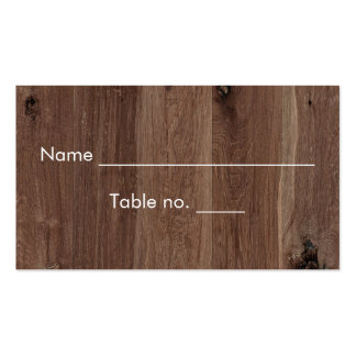 Falso rústico de madeira com o frasco de pedreiro cartão de visita
