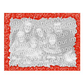 Fama vermelha da imagem do divertimento cartão postal