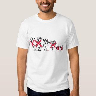 Família da vara - menino mau (roupa leve) camiseta