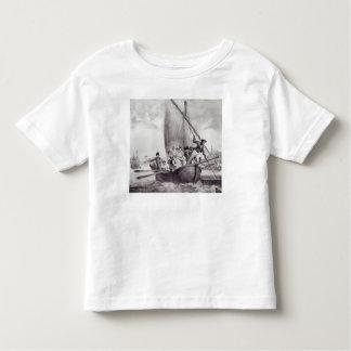 Família de Bonaparte que chega em Toulon Camiseta