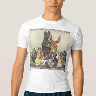 Família do coelhinho da Páscoa do vintage Camiseta