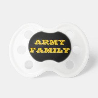 Família do exército do Pacifier Chupeta