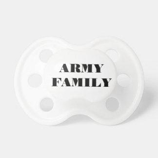 Família do exército do Pacifier Chupeta De Bebê