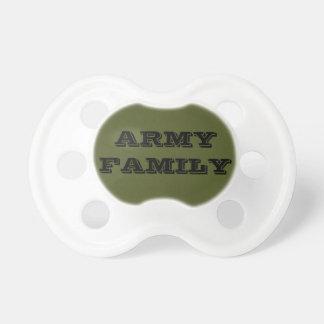 Família do exército do Pacifier Chupeta Para Bebê