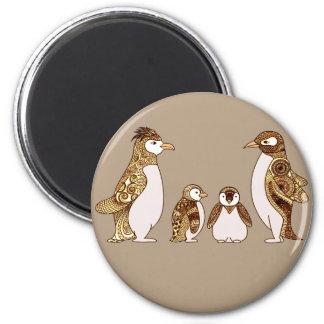 Família dos pinguins imã