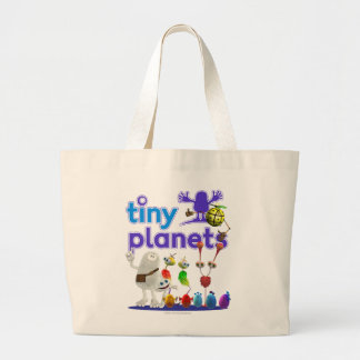 Família minúscula dos planetas sacola tote jumbo