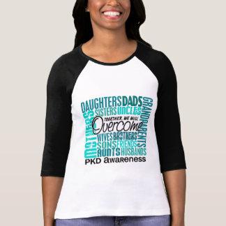 Família PKD quadrado Camiseta