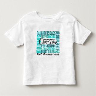 Família PKD quadrado Camiseta Infantil