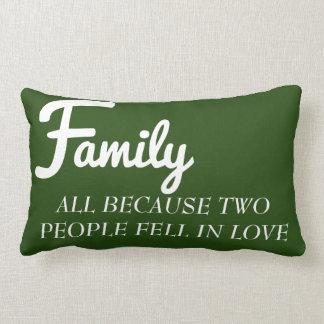 Família toda porque duas pessoas caíram no almofada lombar