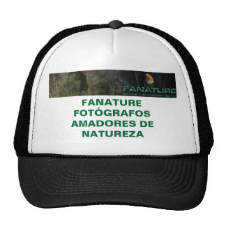 fanature, FANATURE FOTÓGRAFOS AMADORES DE NATUREZA Boné