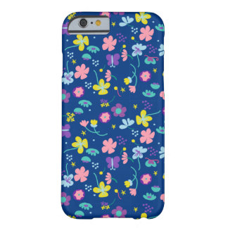 Fantasia floral capa barely there para iPhone 6